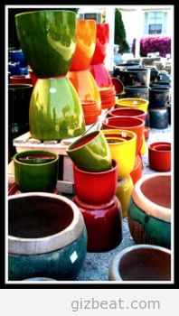 Colorful Clay by geraldbrazell