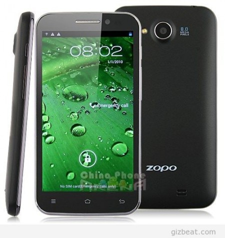 Hero H7500B Zopo ZP820 Preview = Updated H7500+ Zopo ZP810!