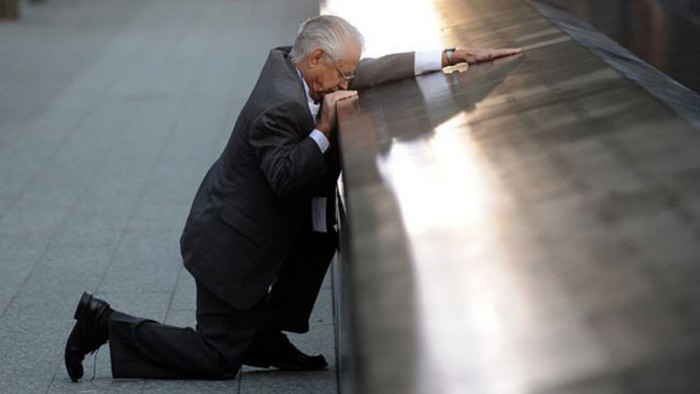 Robert Peraza, who lost his son, mourns 10 years after the 9/11 terror attacks [2011] Source: New York Post
