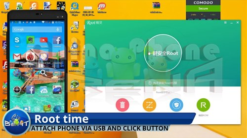 Auto root any China phone / tablet MT6592 MT6582 MT6595 MT6732