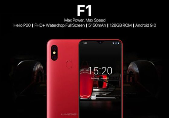 5150mAh UmiDigi F1 coming with Global LTE and powerful Helio P60