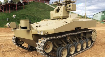 Kalashnikov will produce a 20 ton drone robot tank for the Russian army