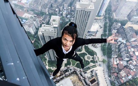 RIP Yongning Wu. China daredevil dies in his last attempt