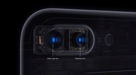 iPhone 7 Plus dual rear cameras. Samsung drops the ball big time.