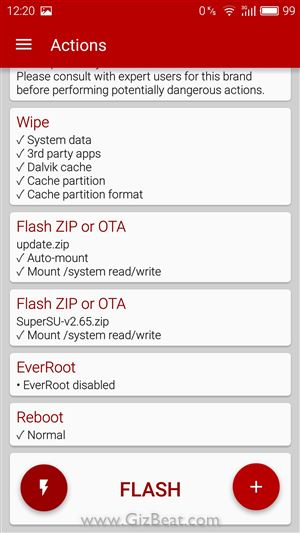 Meizu M3 Note firmware is too old flash ROM MT6755 Helio P10