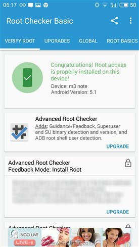 Guide how to root Meizu M3 Note root guide tutorial