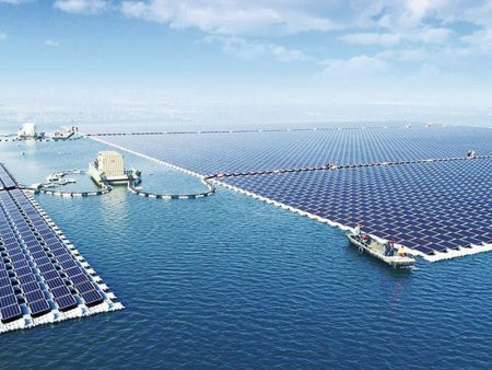China just turned on the world's biggest floating solar power plant