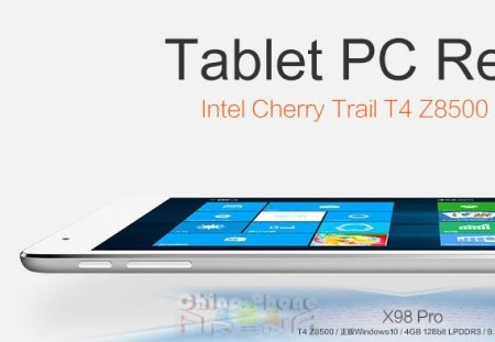Teclast X98 Pro review specifications 4GB 64GB Intel Cherry Trail